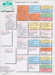 Stamkaart Doffer